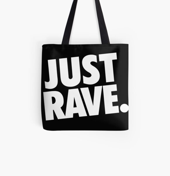 Just Rave. #2 Allover-Print Tote Bag
