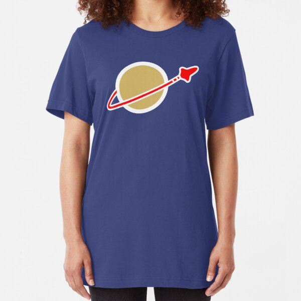 Space Lego Logo Benny Slim Fit T-Shirt