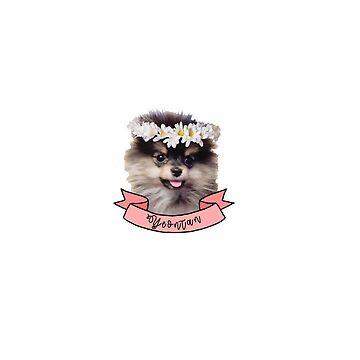 Corona de flores de Yeontan ft de KatieSaunders00