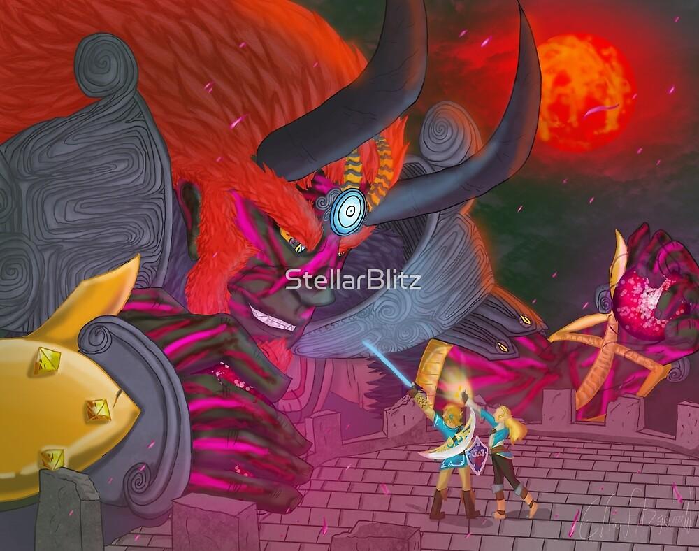 Calamity Ganondorf Breath Of The Wild Fanart By