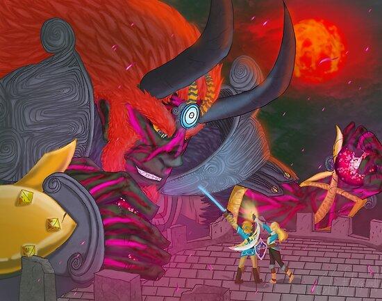 Calamity Ganondorf Breath Of The Wild Fanart Poster By Stellarblitz