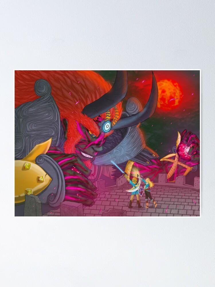 Calamity Ganondorf Breath Of The Wild Fanart Poster
