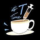 It's T Time by juliangrayart
