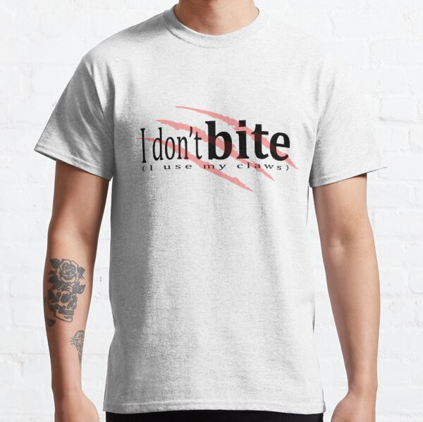 I don't bite (red) Classic T-Shirt