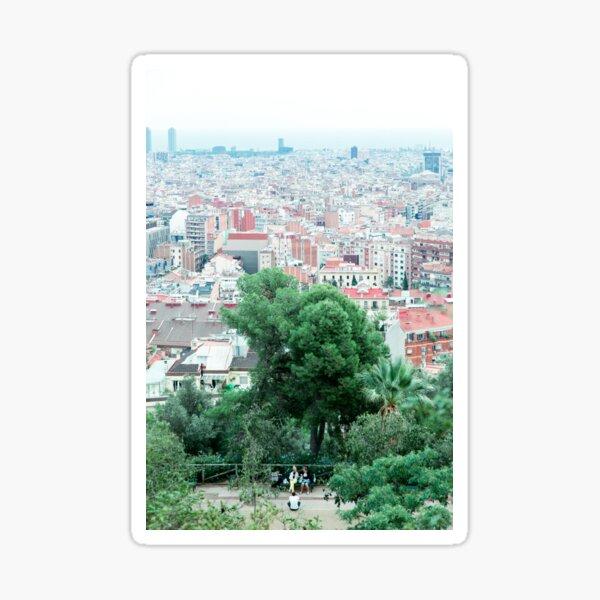 Urban gradient Sticker