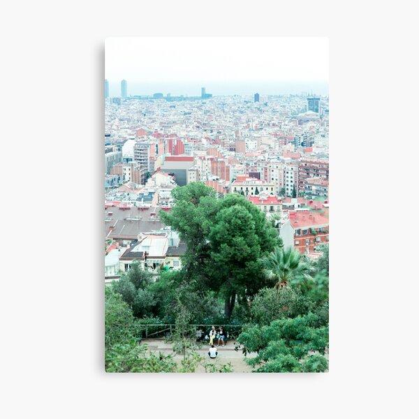 Urban gradient Canvas Print