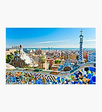 Barcelona Photographic Print