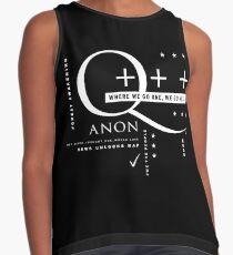 Q - Anon – Where We Go One + + + Sleeveless Top