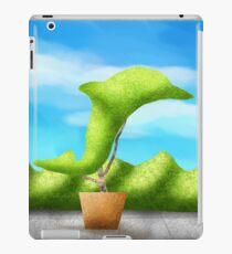Topiary Dolphin  iPad Case/Skin