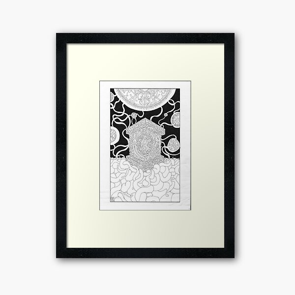 Emissarily Objectified Framed Art Print