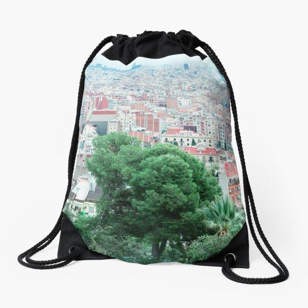 Urban gradient Drawstring Bag