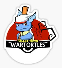Pallet Town Wartortles Sticker