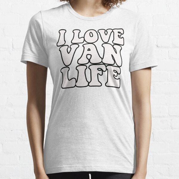I LOVE VAN LIFE RETRO HIPPY STYLE VANNIN Essential T-Shirt