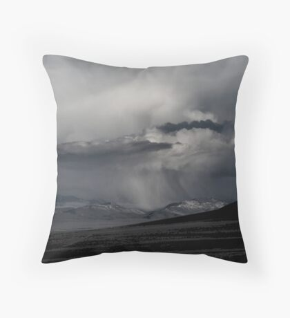 Thunder Being Throw Pillow