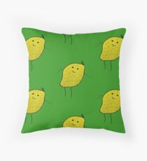 Lemon Boy Throw Pillow