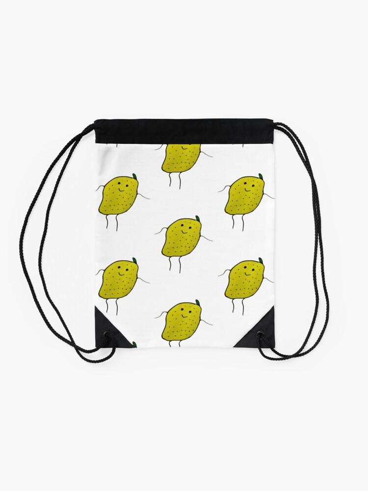 Alternative Ansicht von Zitronen Junge Turnbeutel