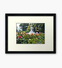 Oamaru Gardens Framed Print