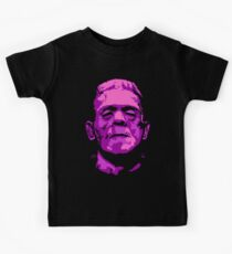 Frankenstein - A study in Pink Kids Tee