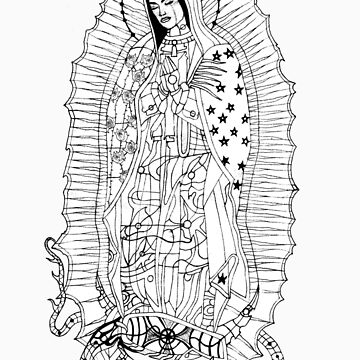Our Lady of Guadalupe by geneticthreat