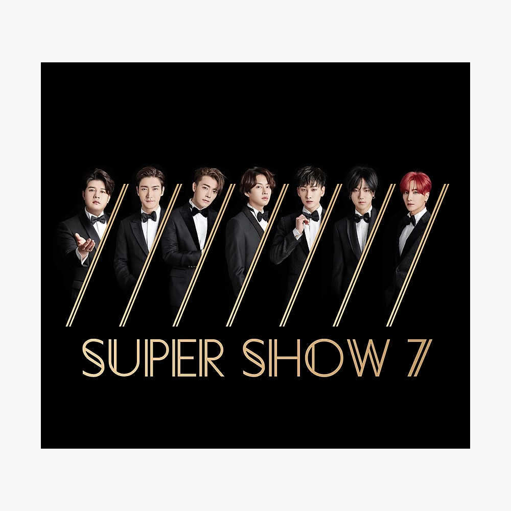 Super Junior Super Show 7 | Photographic Print