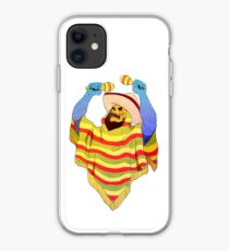 mexican skeletor iPhone Case
