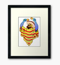 mexican skeletor Framed Print