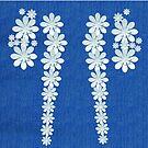 Denim Jeans Lookalike Flowers by Gotcha29