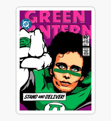 Post-Punk Super Friends - Green Sticker