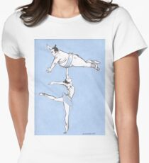 Sumo Ballet  Women's Fitted T-Shirt