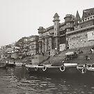 Varanasi, India by Angela Stewart