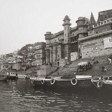 Varanasi, India by ange5573