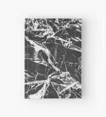 Crumpled Glass Hardcover Journal