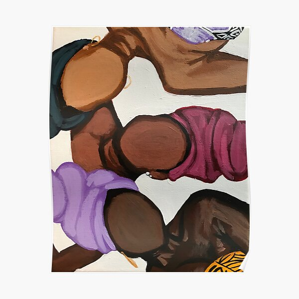 Headwraps & Skintones Poster