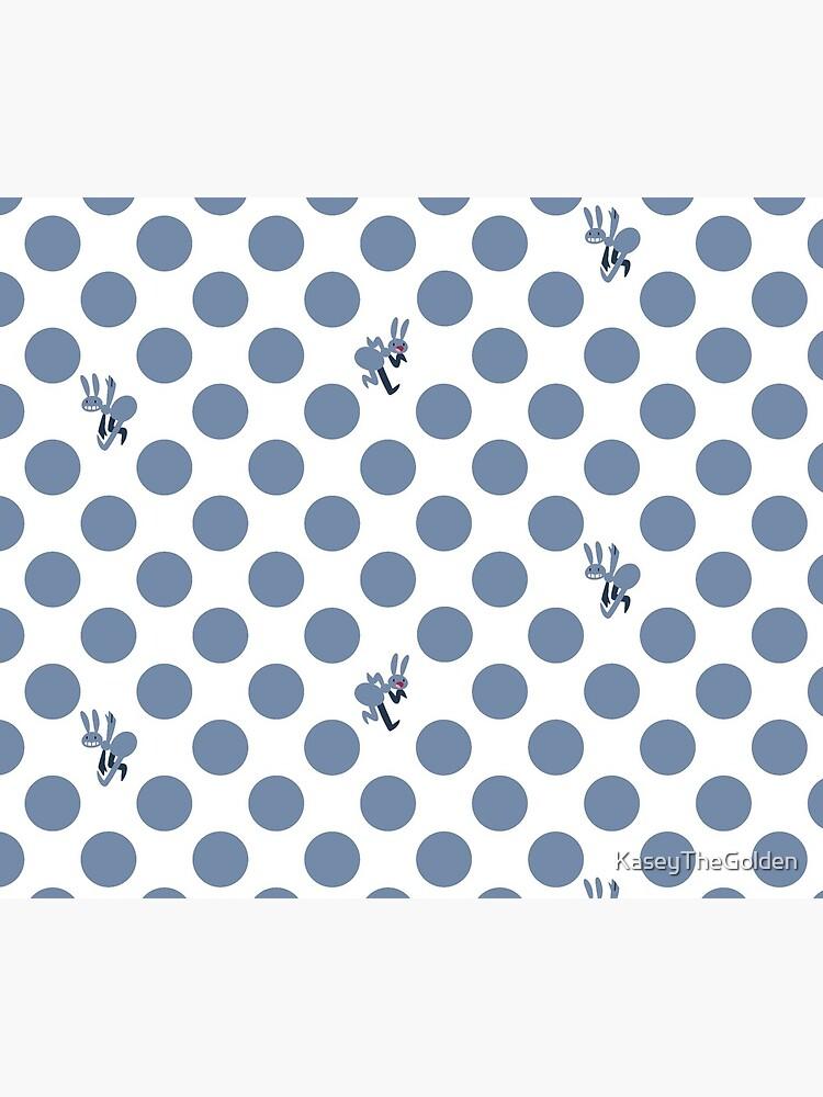 Polka Dot Ants (Blue) by KaseyTheGolden