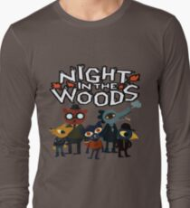 Night In The Woods Long Sleeve T-Shirt
