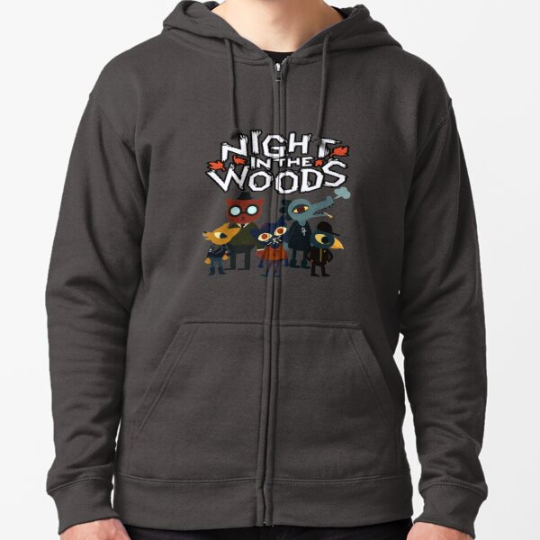 Night In The Woods Zipped Hoodie