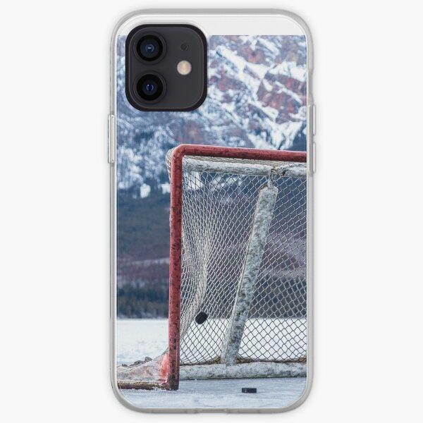 Ramassez le hockey dans les montagnes Coque souple iPhone