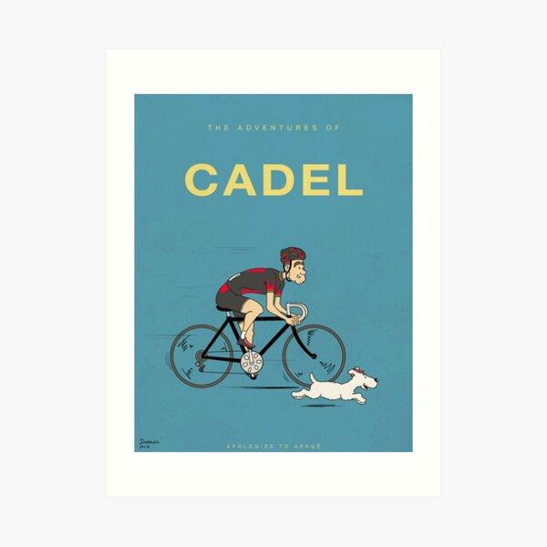 Las aventuras de Cadel Lámina artística