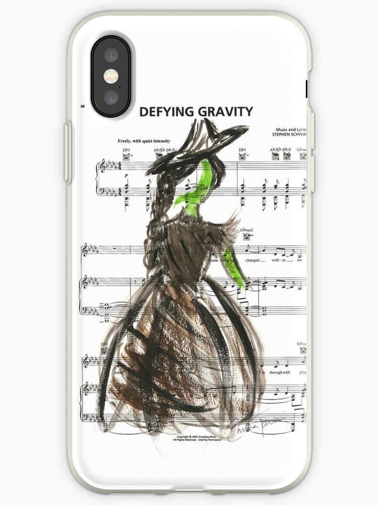 more photos 31221 5bc0a 'Elphaba - Defying Gravity' iPhone Case by Emma Taviani