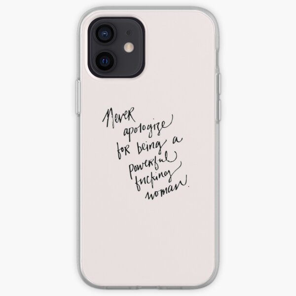 Powerful F-ing Woman iPhone Soft Case