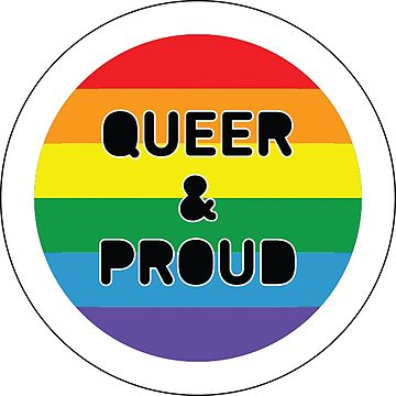 Queer & Proud by strepho