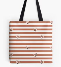 Ant Stripes (Red) Tote Bag
