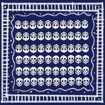Azul Cráneos  by Amata415