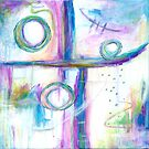 Just the Three of Us, Abstract Art Painting by ItayaArt