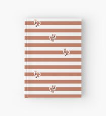 Ant Stripes (Red) Hardcover Journal