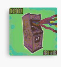 Oscify: Arcade Canvas Print