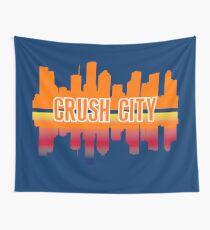 Houston Spitzname Crush City Skyline Wandbehang