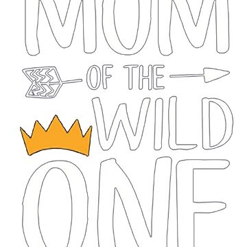 Funny Shirt Cute Mom Of The Wild One Thing 1st Birthday by vokieucsvc