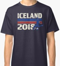 Iceland Soccer 2018 for World Cup in Russia Classic T-Shirt