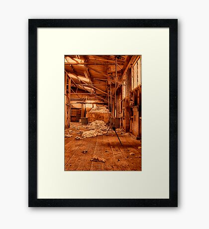 """On the Boards"" Framed Print"